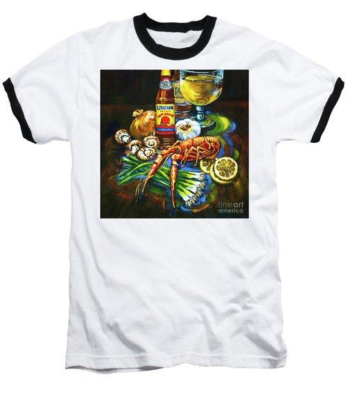 Crawfish Fixin's Baseball T-Shirt