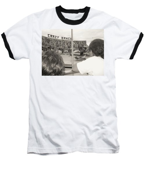 Baseball T-Shirt featuring the photograph Crazy Dance by Beto Machado