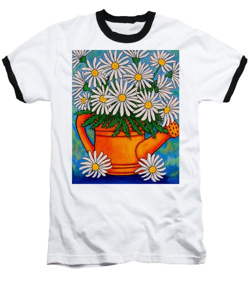 Crazy For Daisies Baseball T-Shirt
