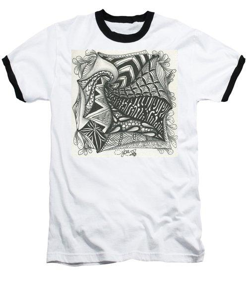 Crazy Spiral Baseball T-Shirt