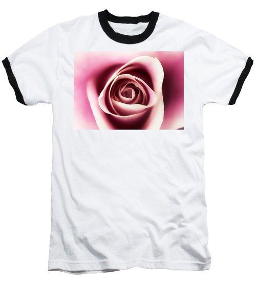 Creamy Pink Baseball T-Shirt