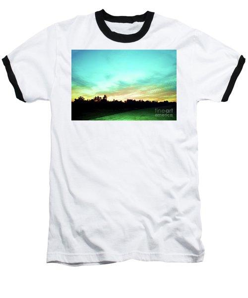 Creator's Sky Painting Baseball T-Shirt