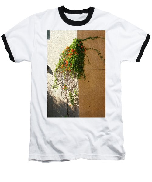 Creeping Plants Baseball T-Shirt