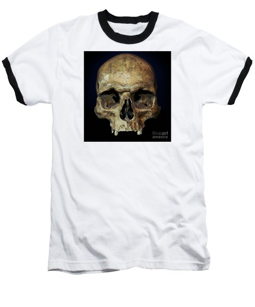 Creepy Skull Baseball T-Shirt