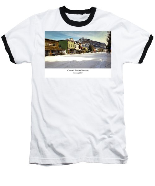 Crested Butte Baseball T-Shirt