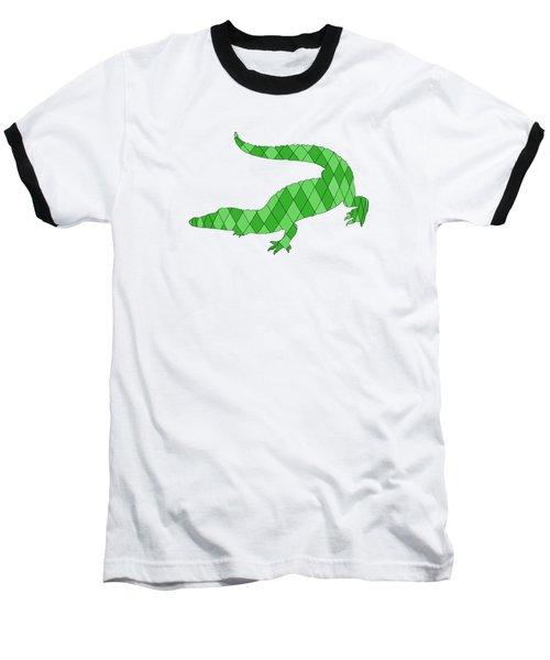Crocodile Baseball T-Shirt