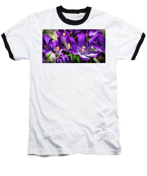 Crocus Amongst Us Baseball T-Shirt