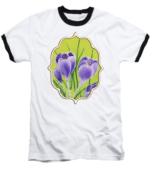 Crocus Baseball T-Shirt