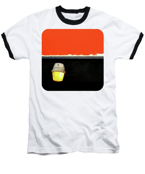 Crooked Baseball T-Shirt by Ethna Gillespie