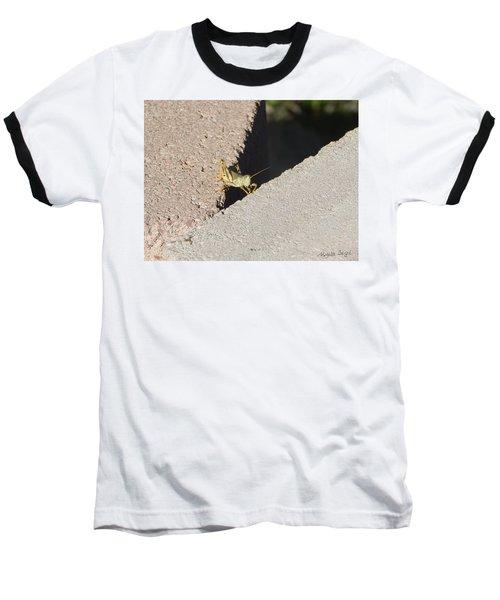 Cross Over Grasshopper Baseball T-Shirt