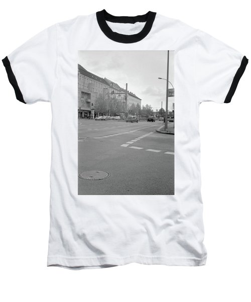Crossroads In Prenzlauer Berg Baseball T-Shirt