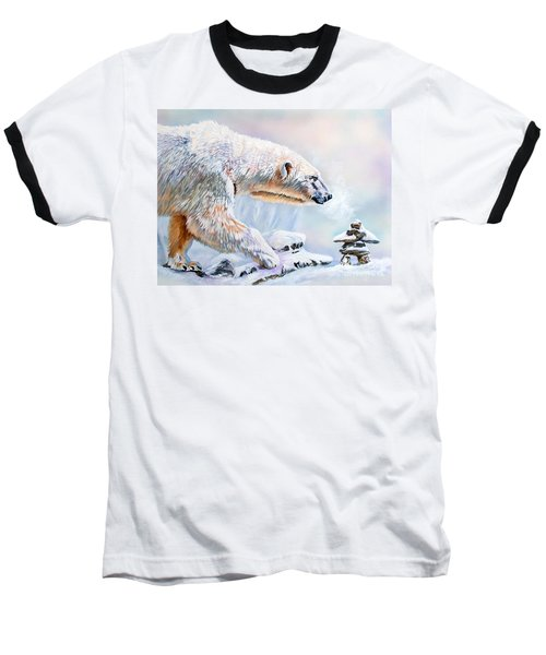 Crossroads Baseball T-Shirt by J W Baker