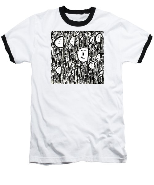 Crowd Baseball T-Shirt