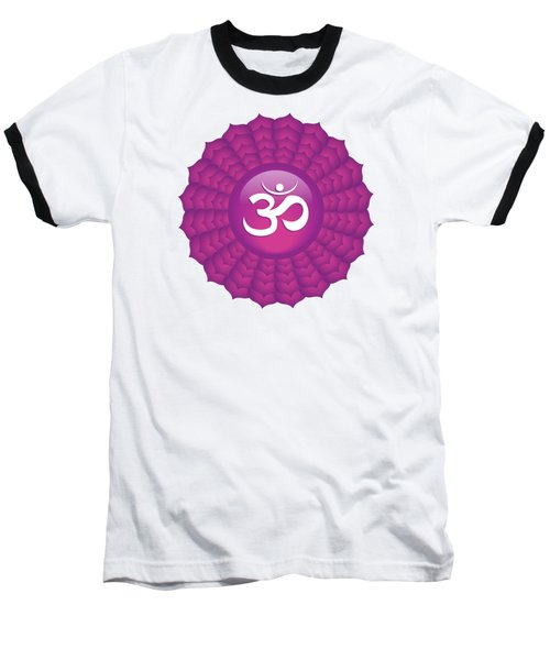 Crown Chakra Baseball T-Shirt