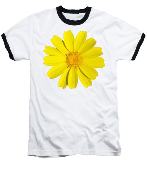 Baseball T-Shirt featuring the photograph Crown Daisy by George Atsametakis