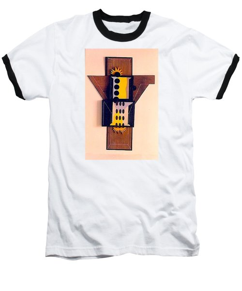 Crucifiction Baseball T-Shirt