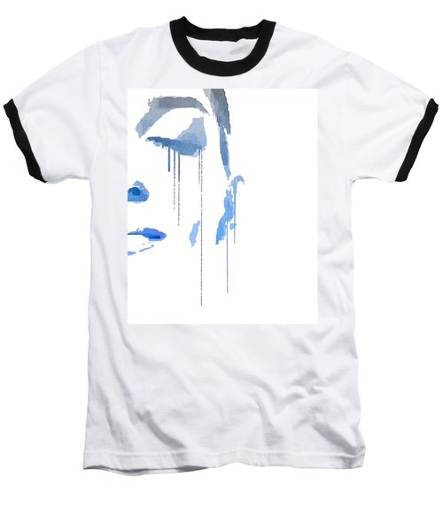 Crying In Pain Baseball T-Shirt by ISAW Gallery