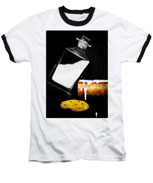 Baseball T-Shirt featuring the photograph Crying Over Spilled Milk by Diana Angstadt