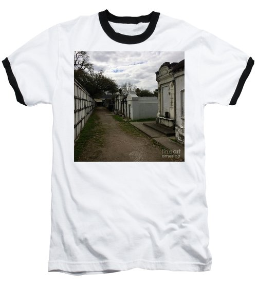 Baseball T-Shirt featuring the photograph Crypts by Kim Nelson