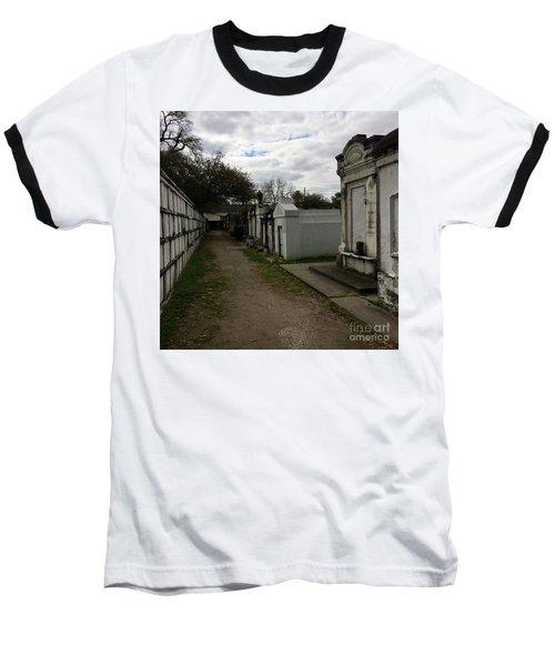 Crypts Baseball T-Shirt by Kim Nelson