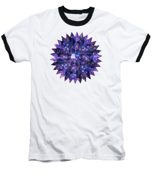 Crystal Magic 1 Baseball T-Shirt by Leanne Seymour