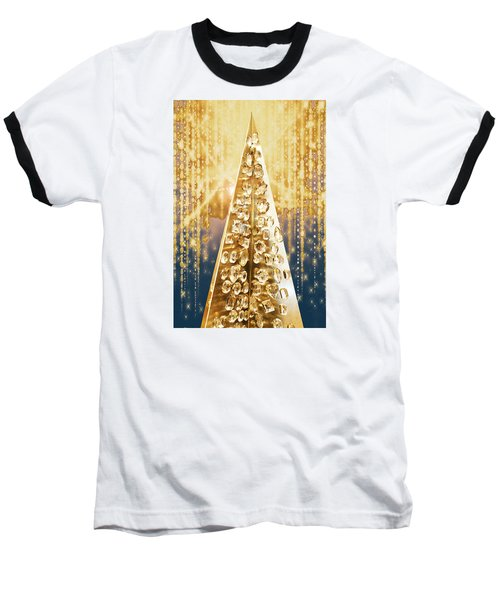 Crystal Tree Baseball T-Shirt