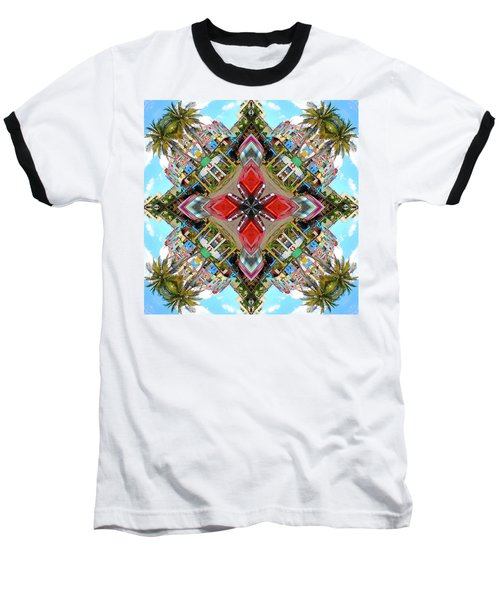 Cuban Kaleidoscope Baseball T-Shirt