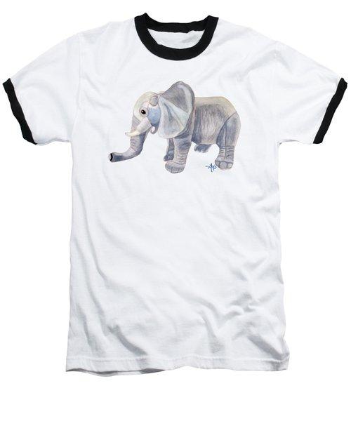Cuddly Elephant II Baseball T-Shirt