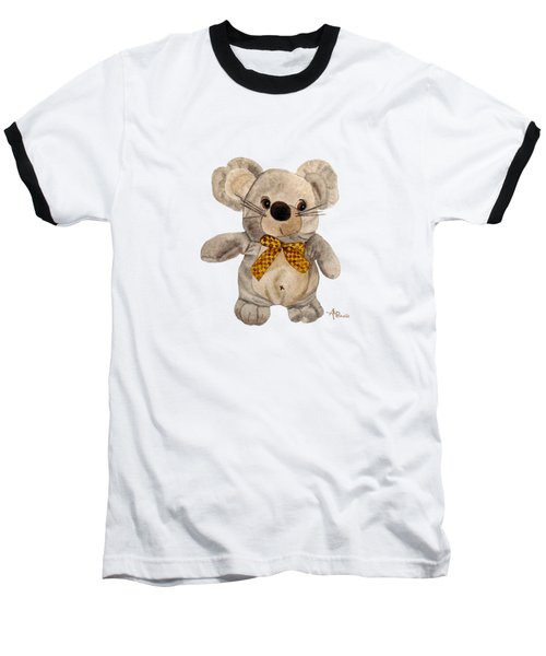 Cuddly Mouse Baseball T-Shirt