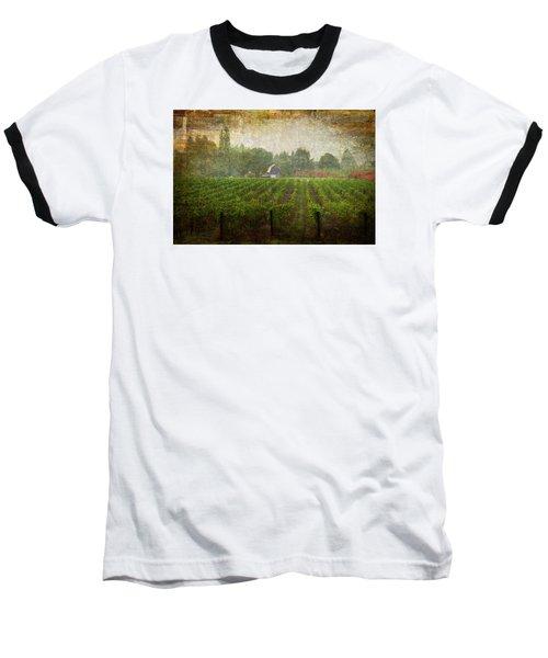 Cultivating A Chardonnay Baseball T-Shirt by Jeffrey Jensen