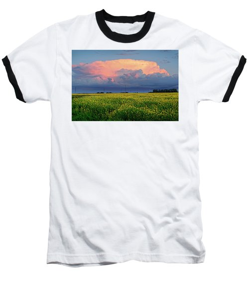 Cumulus And Canola Baseball T-Shirt
