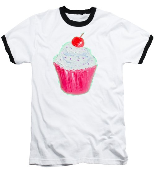 Cupcake Painting Baseball T-Shirt