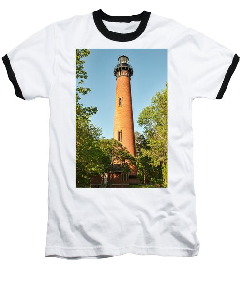 Currituck Beach Lighthouse Baseball T-Shirt