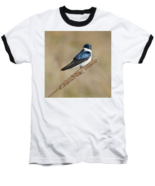 Baseball T-Shirt featuring the photograph Cushy Perch by Stephen Flint