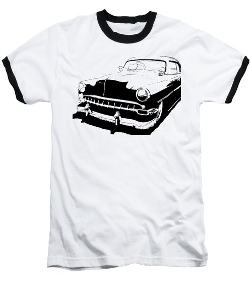 Custom 1954 Chevy Tee Baseball T-Shirt