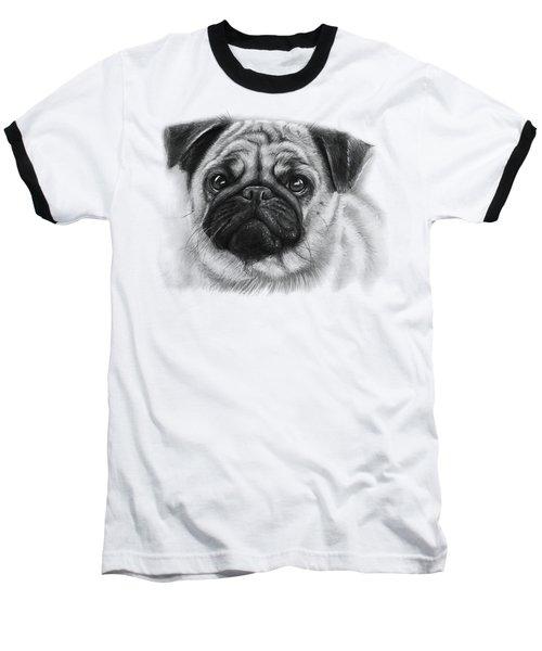 Cute Pug Baseball T-Shirt