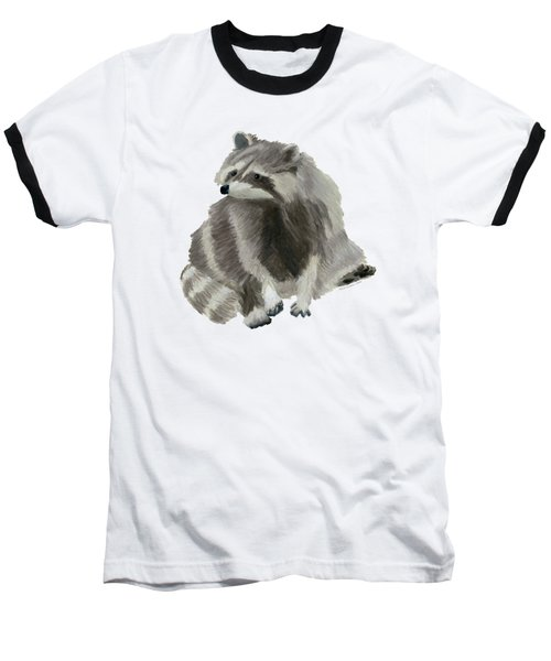 Cute Raccoon Baseball T-Shirt