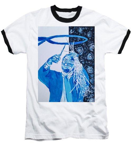 Cutting Down The Net - Dean Smith Baseball T-Shirt