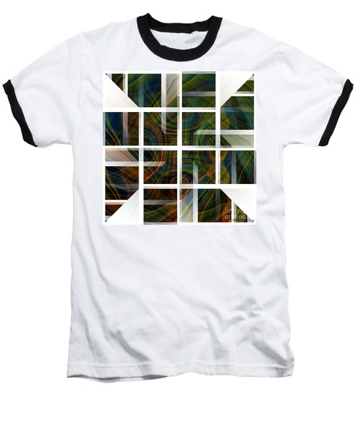 Cutting Life Baseball T-Shirt by Thibault Toussaint