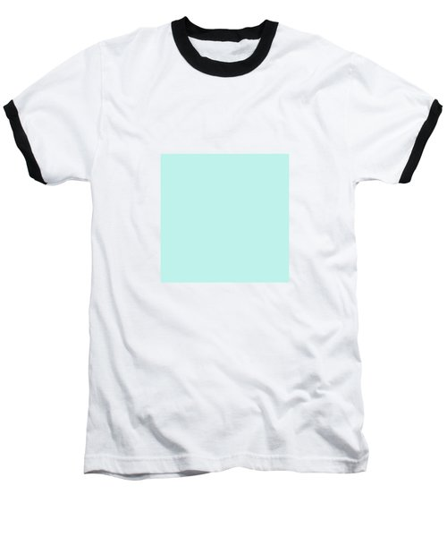 Cyan Ultra Soft Pastels Colour Palette Baseball T-Shirt