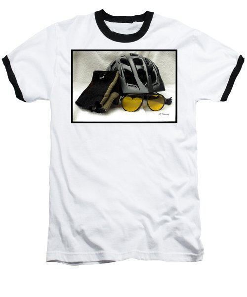 Baseball T-Shirt featuring the photograph Cycling Gear by James C Thomas