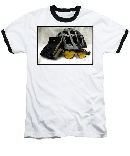 Cycling Gear Baseball T-Shirt