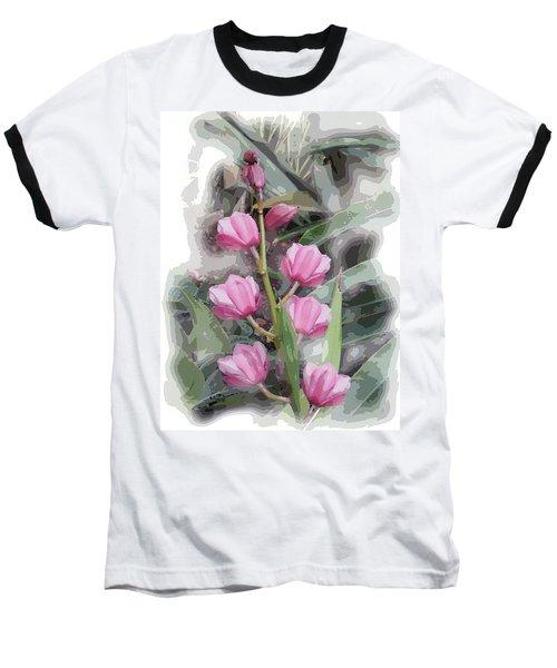 Cymbidium Baseball T-Shirt