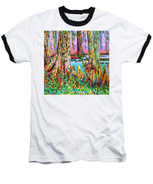 Cypress Spirit Rising Baseball T-Shirt
