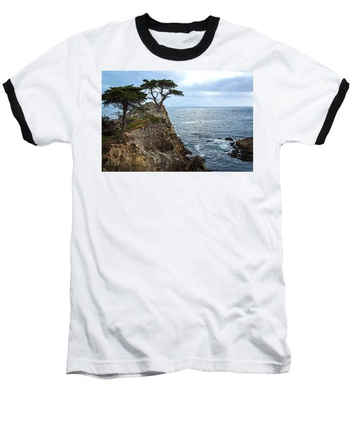 Cypress Tree On The Point Baseball T-Shirt