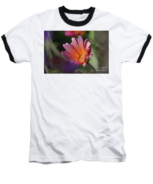 Baseball T-Shirt featuring the photograph Daisy At Dusk by Debby Pueschel