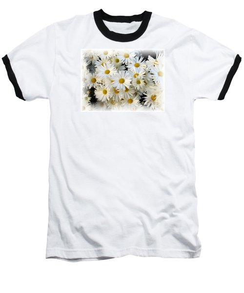 Baseball T-Shirt featuring the photograph Daisy Bouquet by Carol Sweetwood