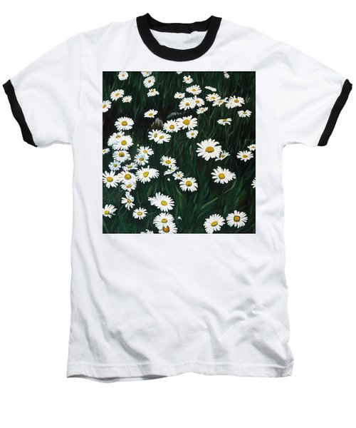 Daisy Bouquet Baseball T-Shirt