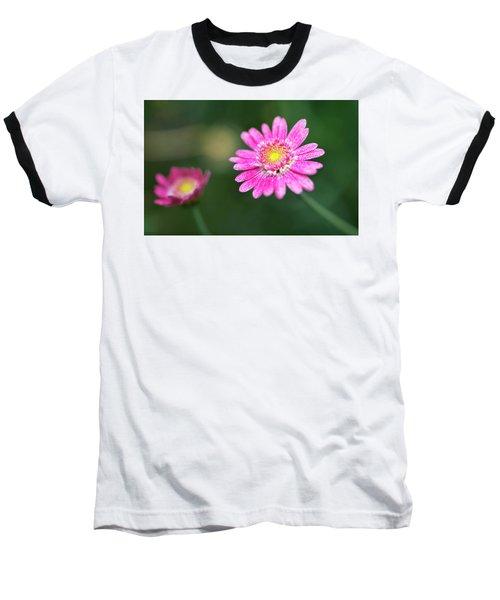 Daisy Flower Baseball T-Shirt