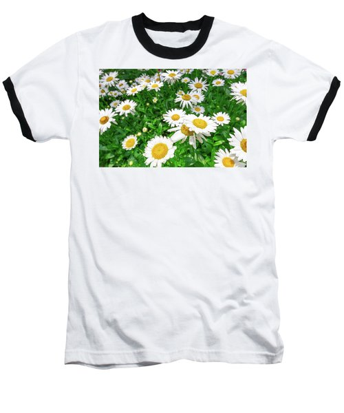 Daisy Garden Baseball T-Shirt
